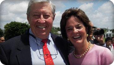 Ron and Barbara Backer